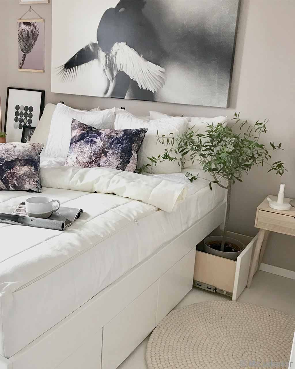 white bed with white bedsheet asian traditional cheap rugs