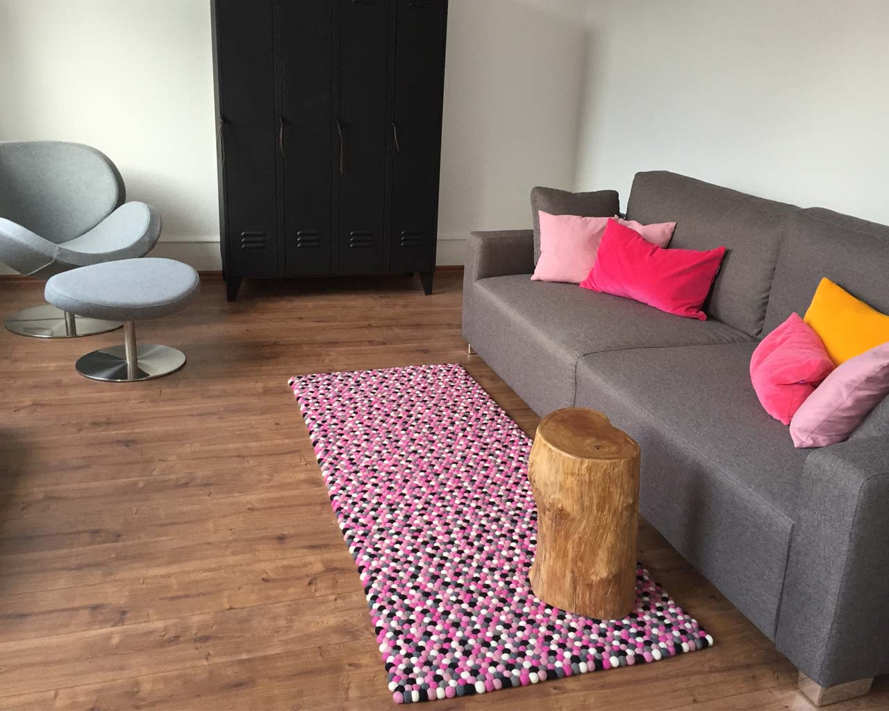 nice gray chair and round table asian contemporary geometric rug
