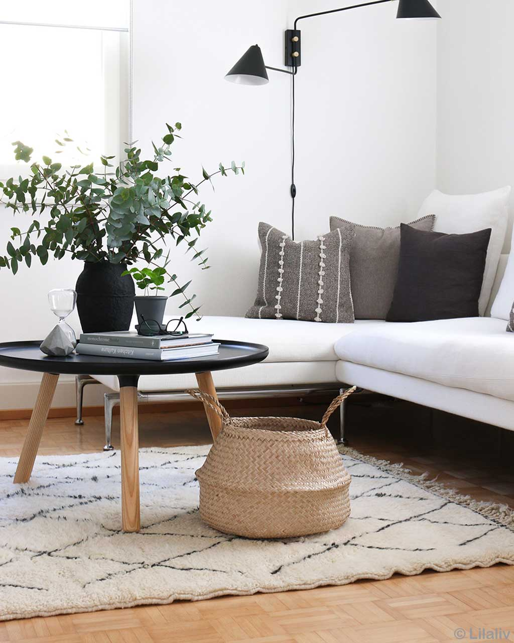sofa round table and lamp asian contemporary kitchen rugs