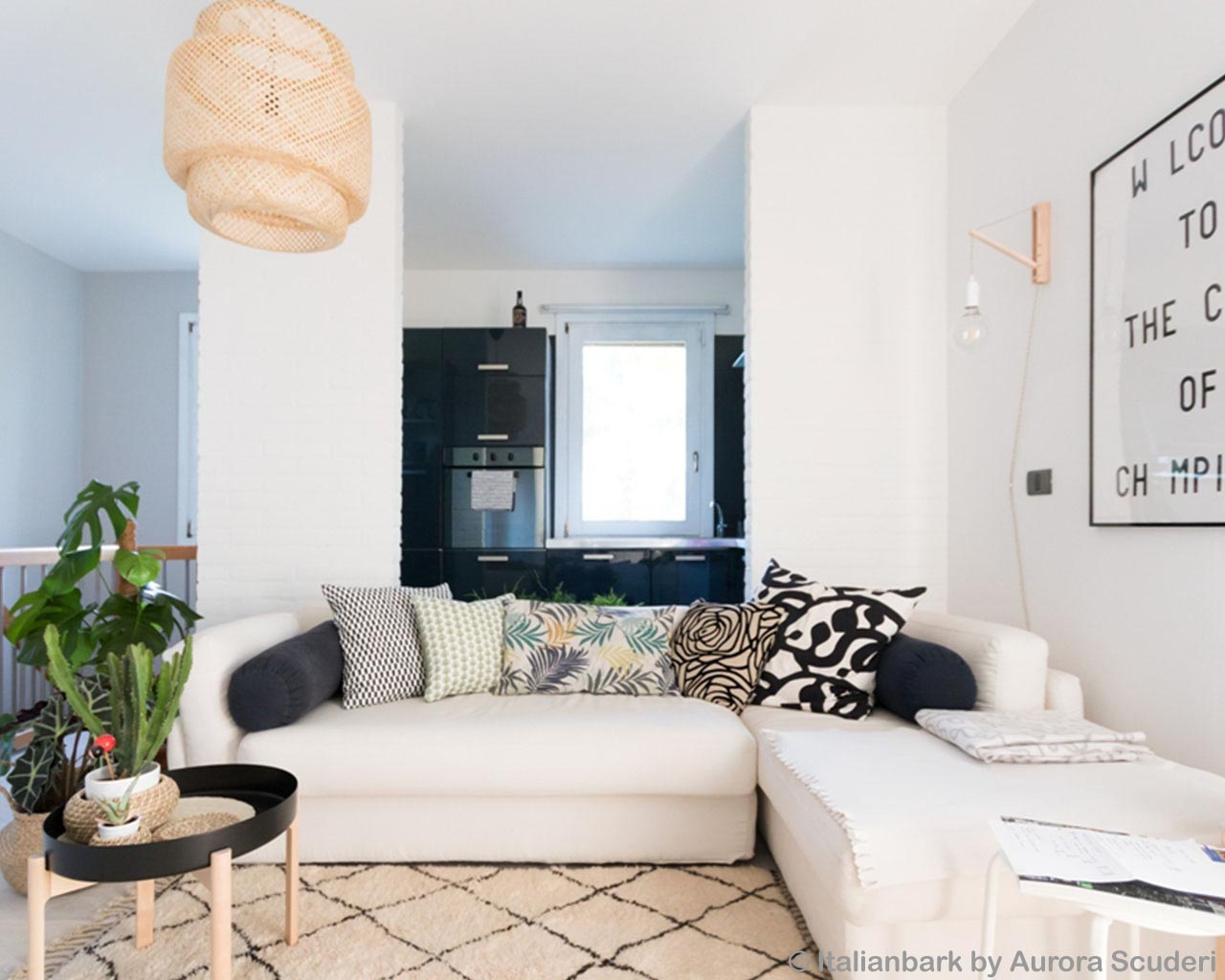 white big sofa and vase made in morocco modern indoor rug