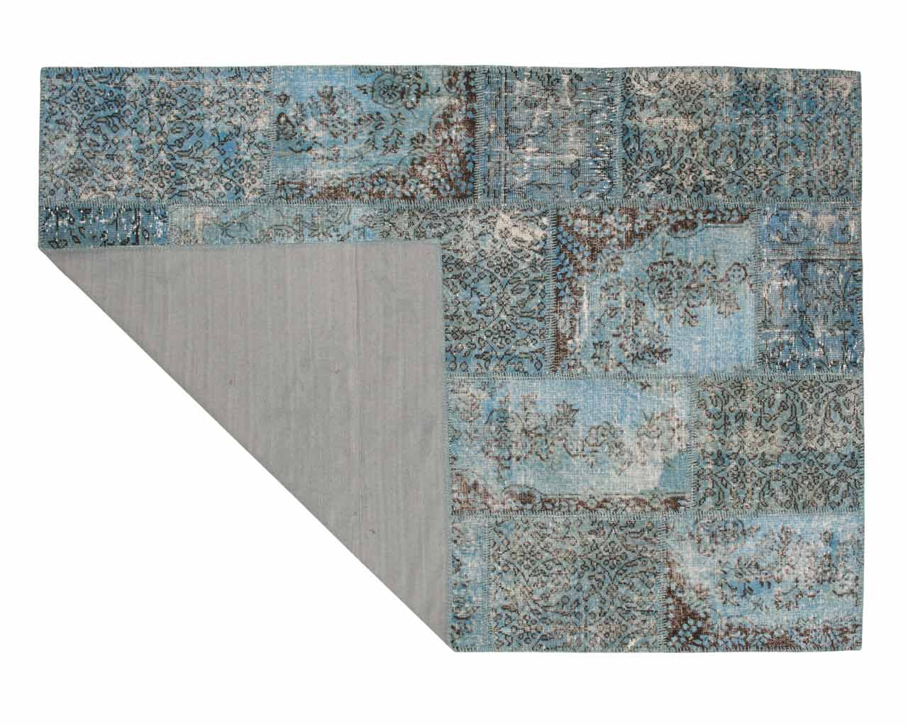 iceblue sukhi rugs turkish patchwork